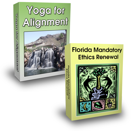 Yoga for Alignment (6 CEH)+ Florida Mandatory Ethics Renewal (6 CEH)